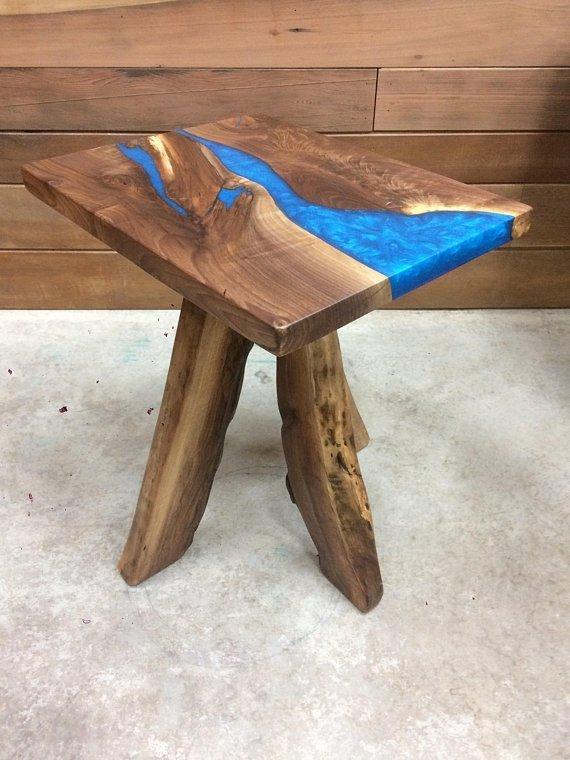 Legno e resina tavolo una vita che vale 1 una vita che for Tavolo legno resina