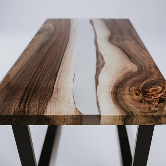 Come Costruire Tavoli E Tavolini In Legno Con Resina Epossidica Una Vita Che Vale