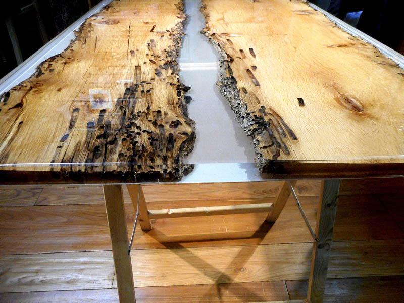 Tavoli In Resina Epossidica E Legno.Come Costruire Tavoli E Tavolini In Legno Con Resina Epossidica